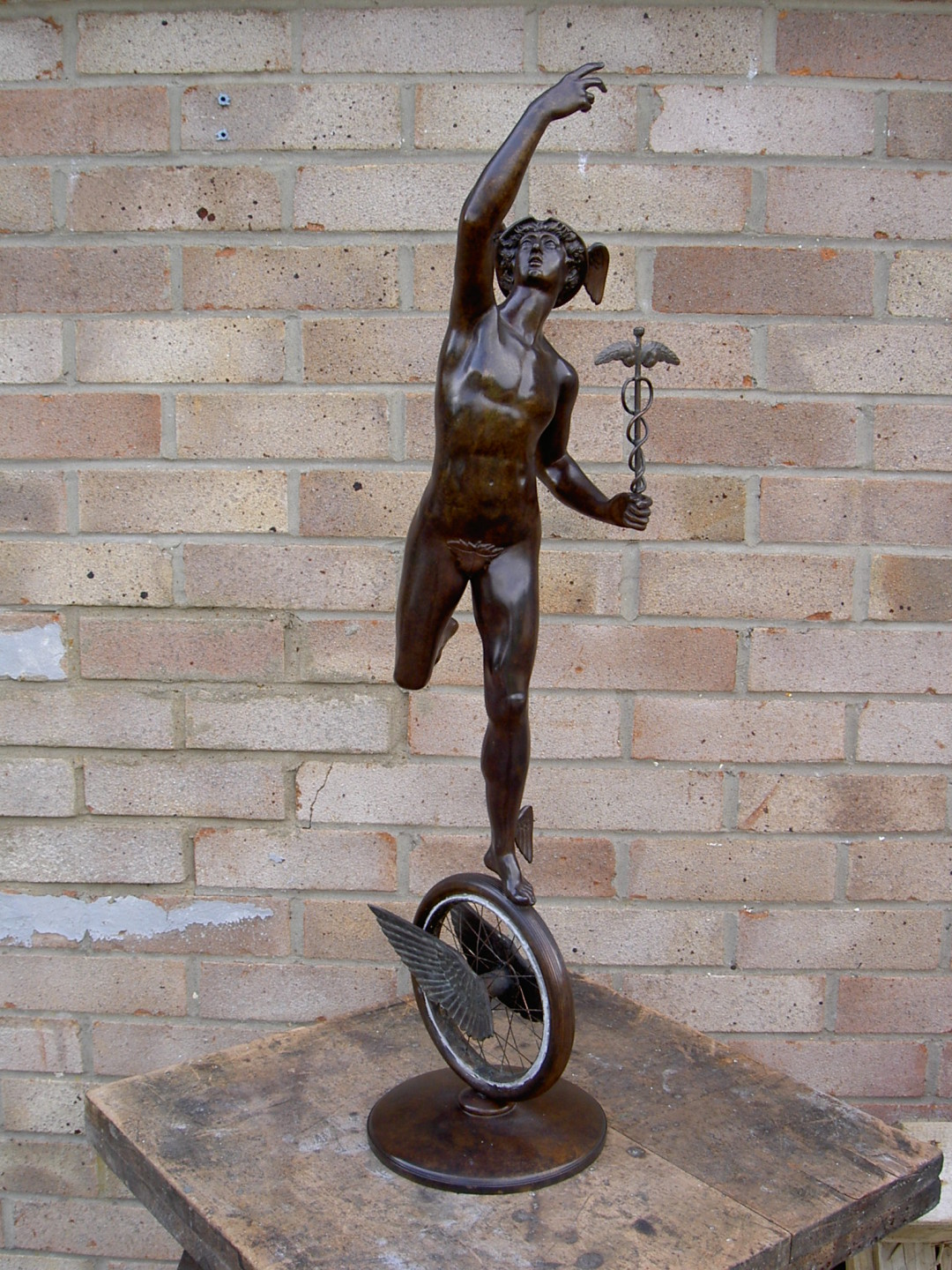 Mercury -Isle of Man TT award – finished bronze sculpture