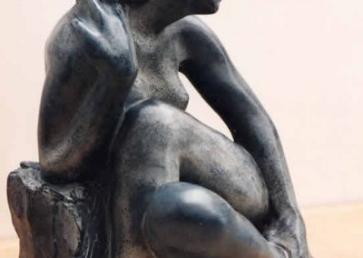 Seated Girl by Paul Fletcher