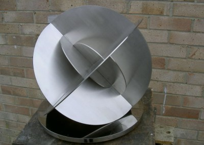 Unison by Charlotte Mayer, stainless steel